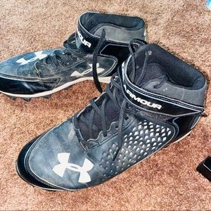 Under Armour Athletic Baseball Spikes Cleats 10.5